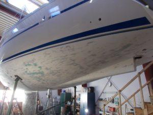 Bavaria-390-Unterwasserschiff-Neuaufbau-Taku-Moe-1