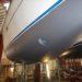Neuaufbau Unterwasserschiff, Kiel und Ruderblatt