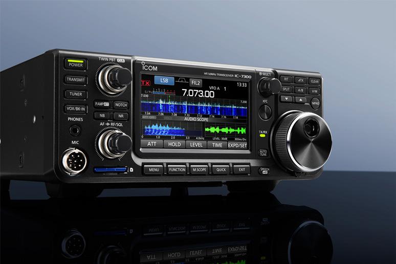 ICOM-IC-7300-HF-Radio-SSB-Bavaria-390-Lagoon-Taku-Moe-Marine