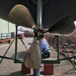 Gori 3-blatt Faltpropeller
